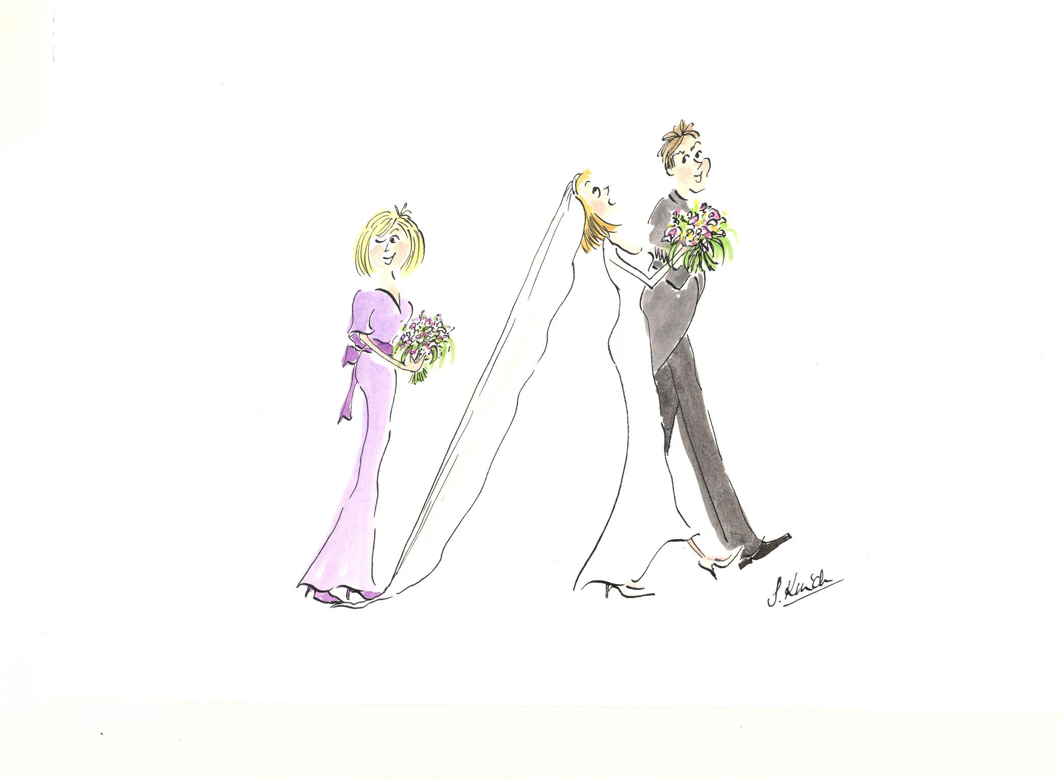 Distracted  bridesmaid! jpg