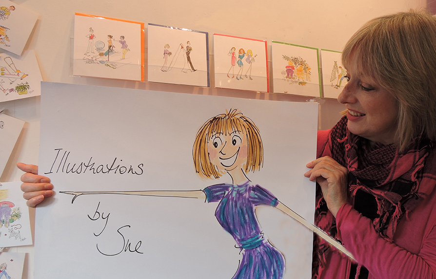 Sue & drawing for website1